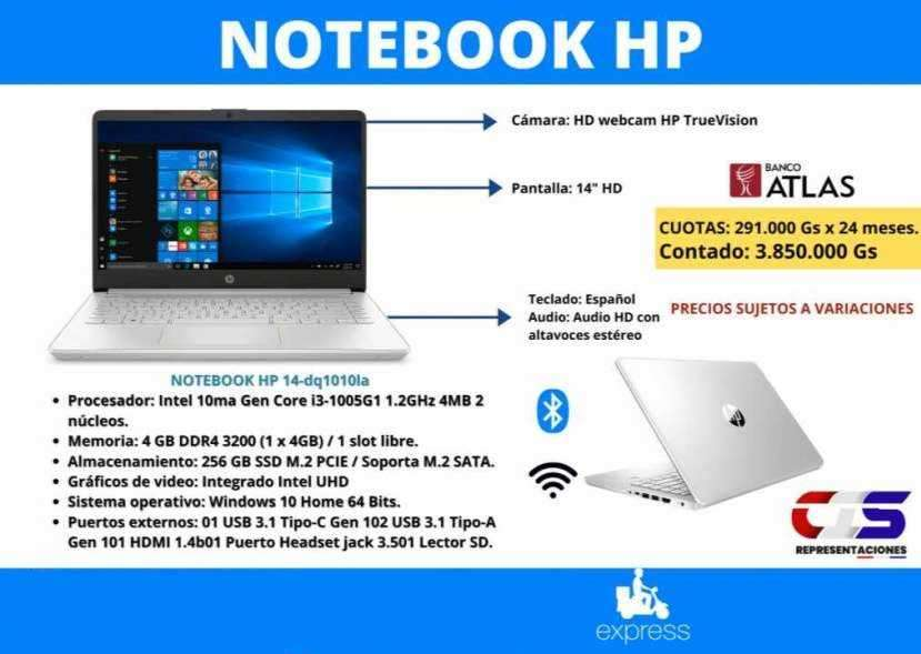 Notebook HP Intel Core i3 - 0