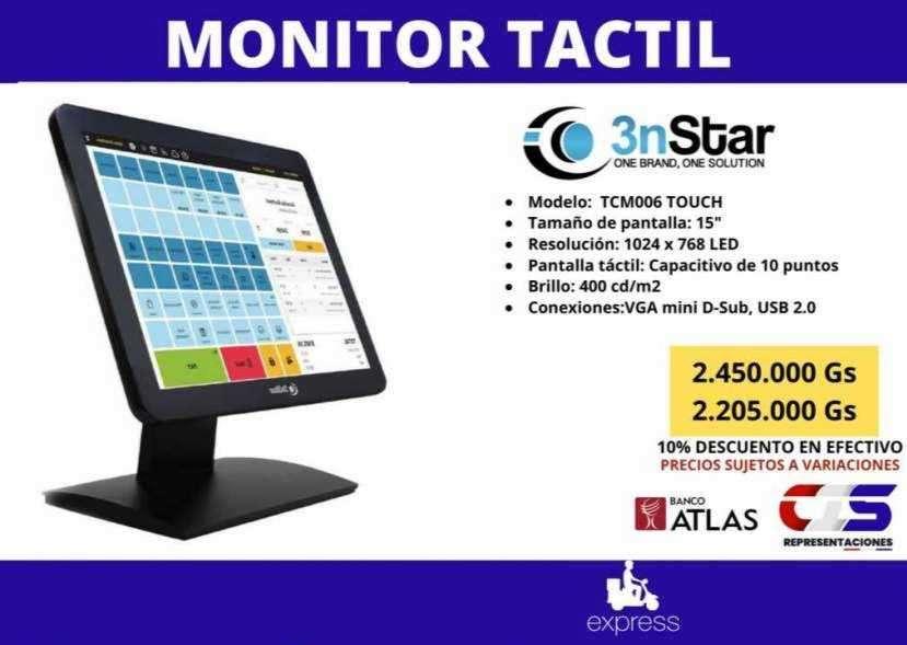 Monitor touch para punto de venta táctil 3nStar - 0