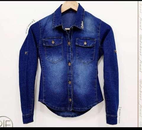 Campera de jeans para dama - 1