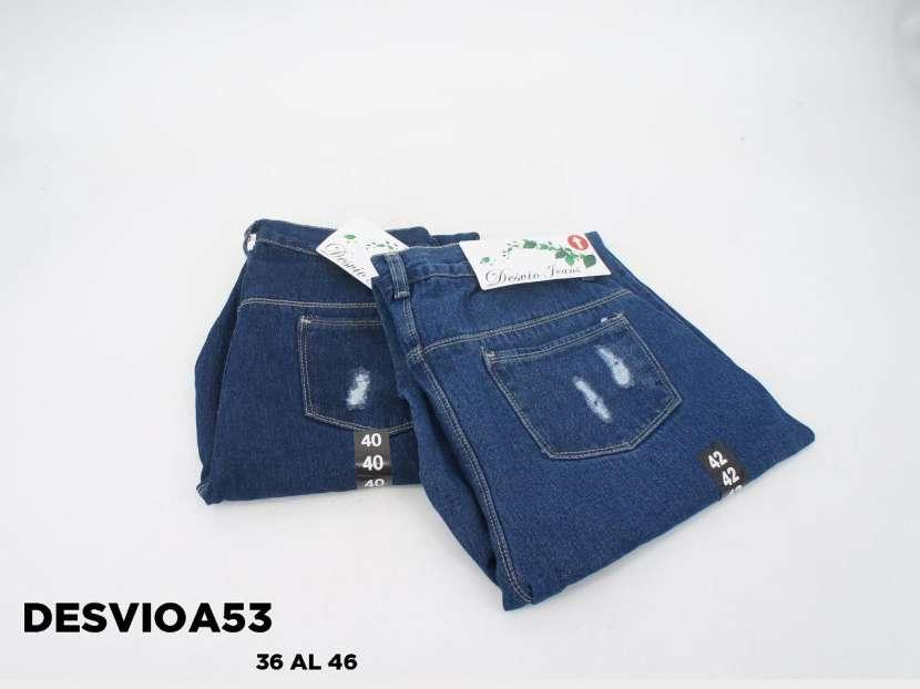 Jeans mon con roturas DesvioA53 - 1