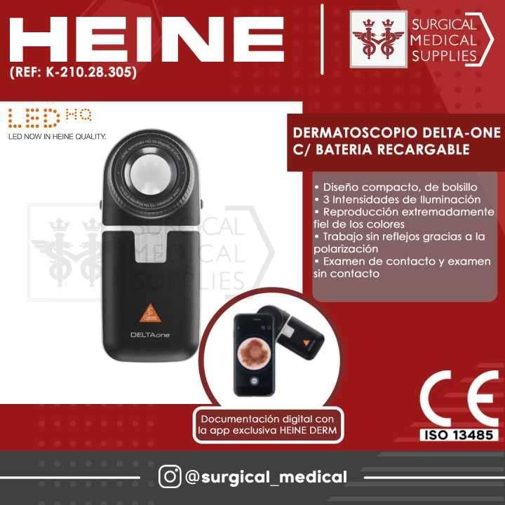 Dermatoscopio Delta-One con batería recargable - 0