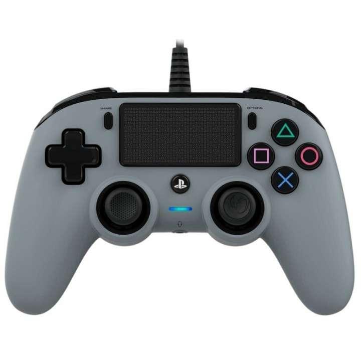 Control Nacon Wired Compact Controller para PS4 gris - 0