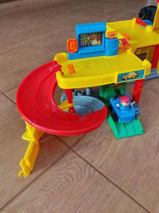 Car wash little people Fisher Price - 1