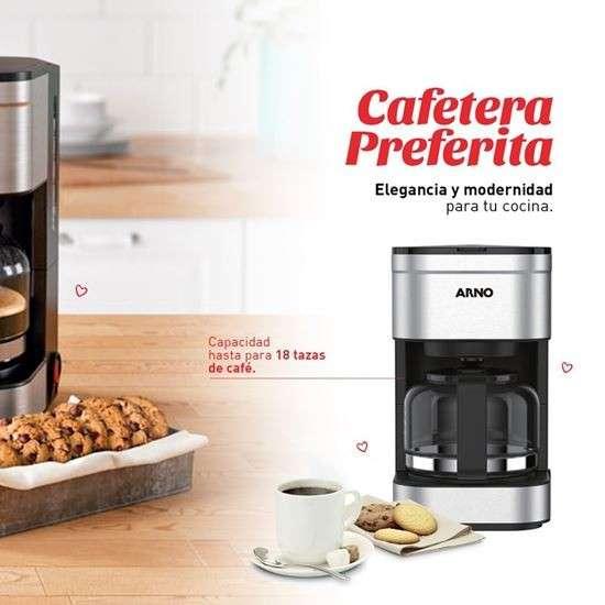 Cafetera Arno inox - 0