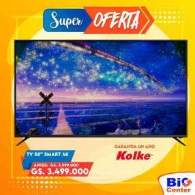 TV LED Kolke 58 pulgadas 4K UHD