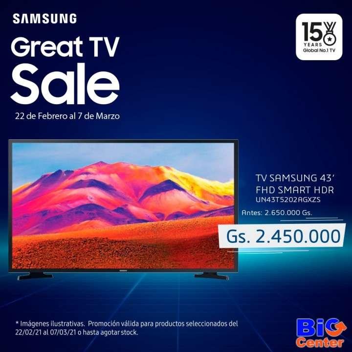 TV Samsung de 43 pulgadas FHD - 0