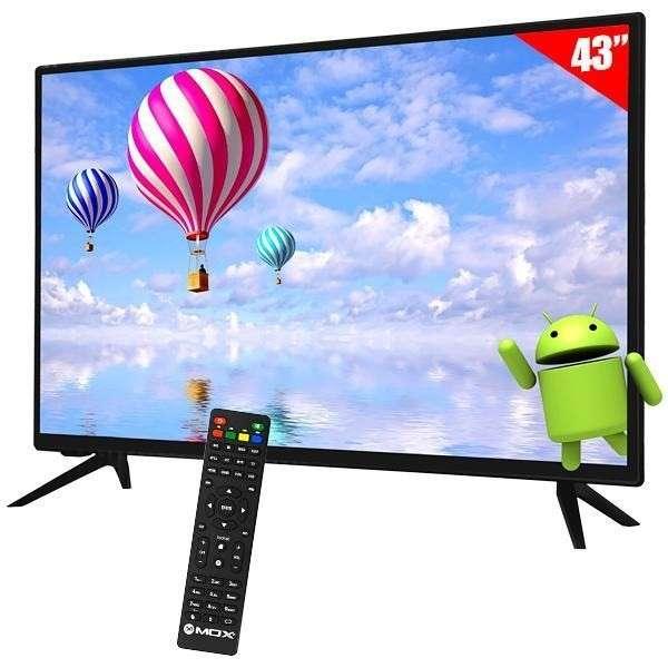 Smart tv led Mox 43 pulgadas - 0