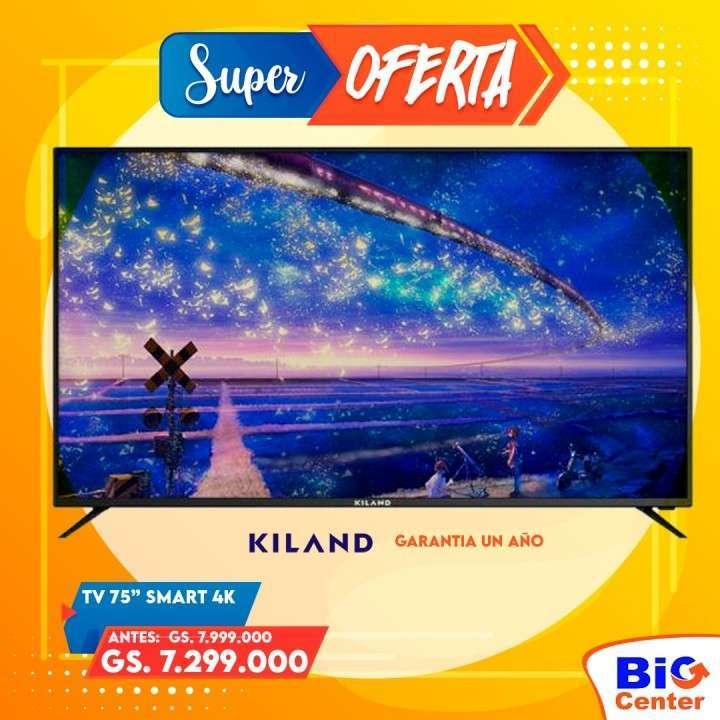 Smart TV Kiland 75 pulgadas 4K (3076) - 1