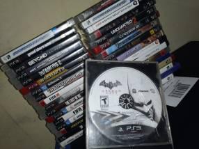 PS3 Super Slim de 500 gb con 37 juegos
