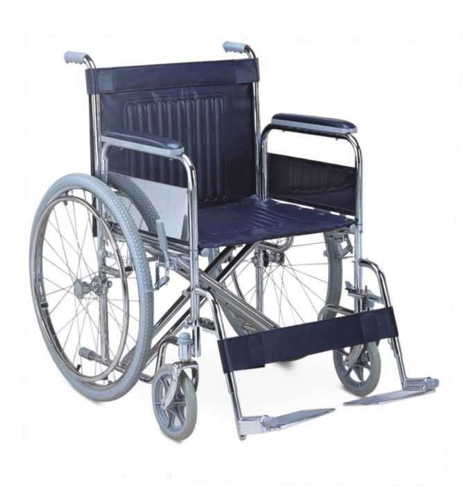 Silla de ruedas reforzada estándar - 0