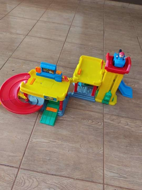 Car wash little people Fisher Price - 2