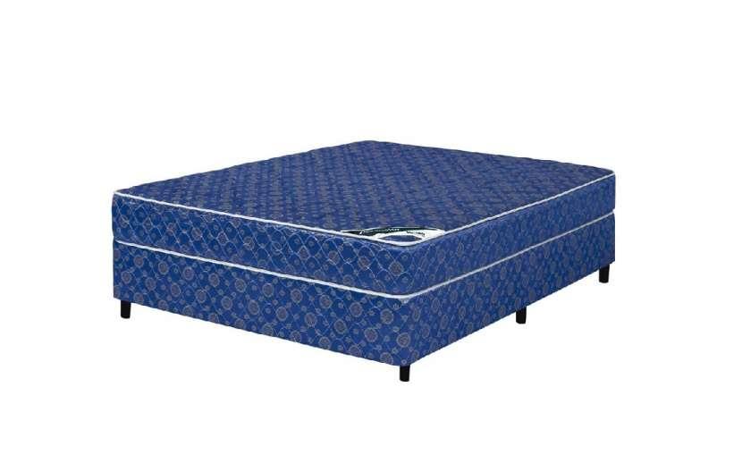 Base y colchón sommier Koala Dormilon sin pillow 140x190 cm azul - 2