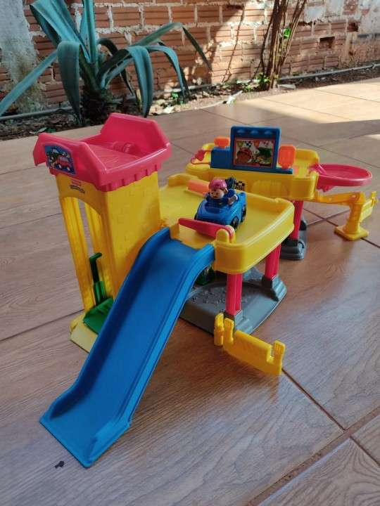 Car wash little people Fisher Price - 3