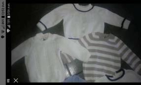Batitas para bebé en hilo de algodón