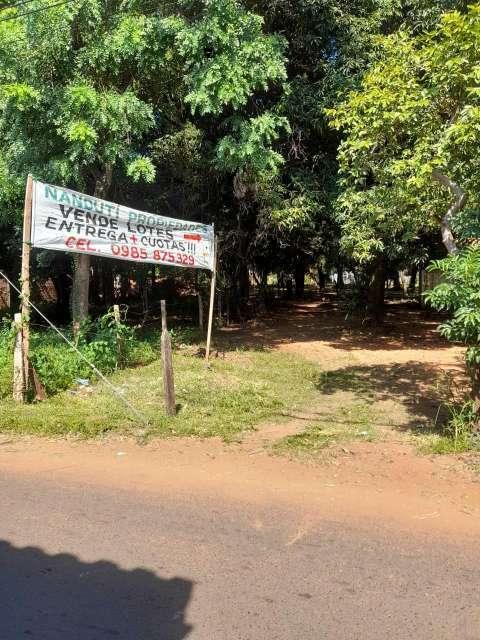 Terrenos en Capiatá Km 23 ruta 2 - 3