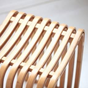 Taburete de Bambú