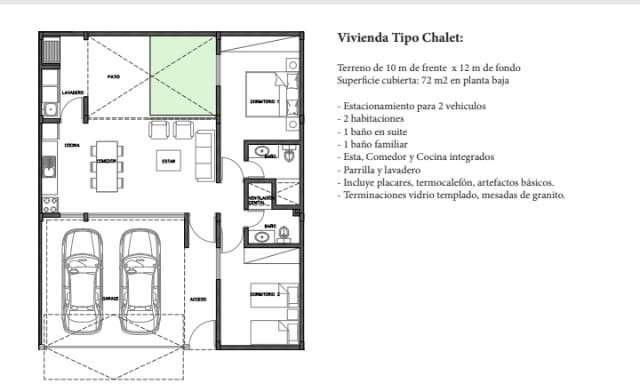 Duplex en Luque Y5508 - 3
