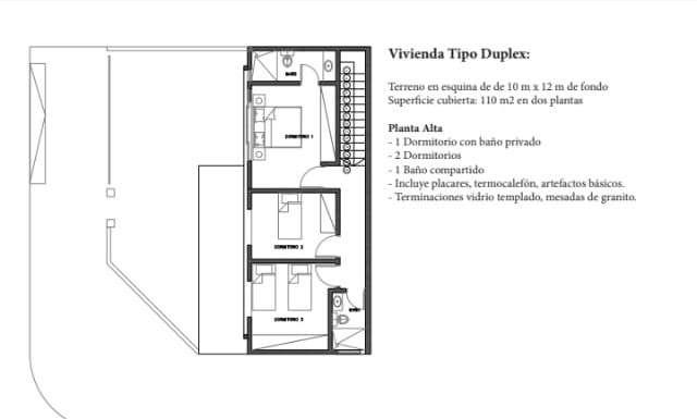 Duplex en Luque Y5508 - 1