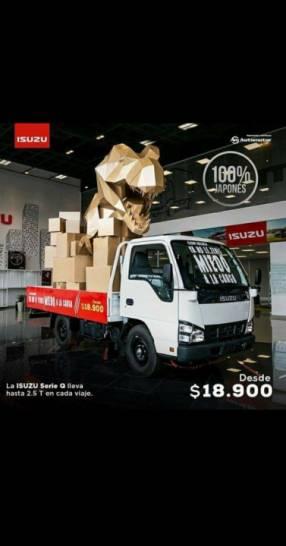 Camión Isuzu serie Q 2.5 toneladas