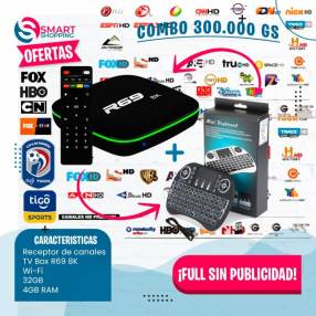 TV Box R69 8K