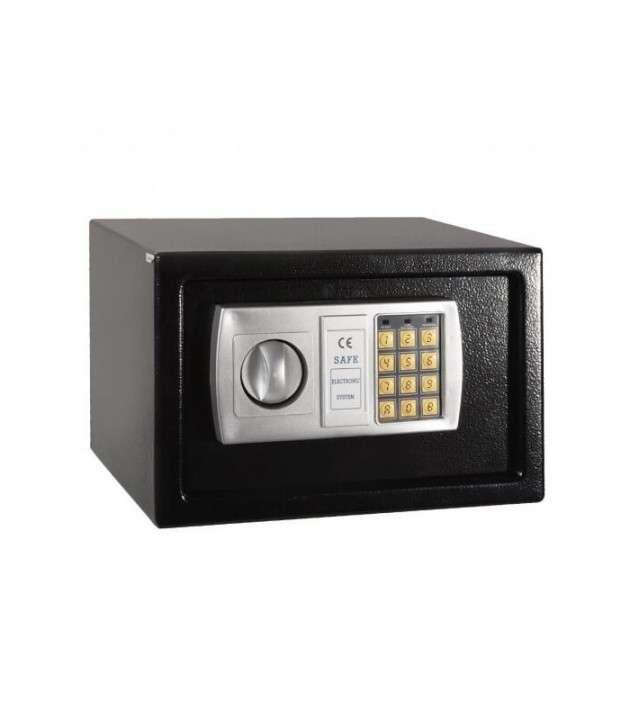 Caja fuerte con teclado digital (HW49696BK) - 0