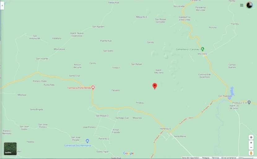 Terreno 30 hectáreas en Alto Verá Itapúa - 1