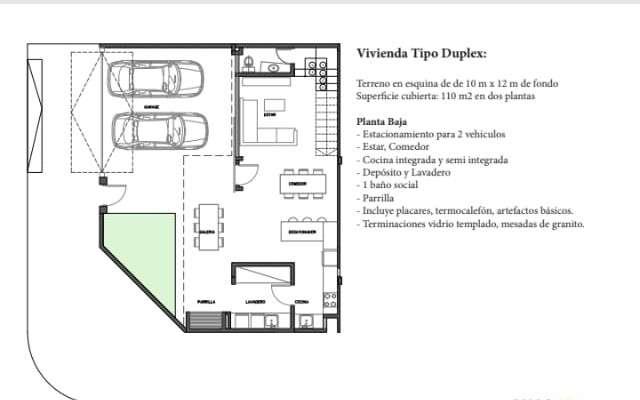 Duplex en Luque Y5508 - 2