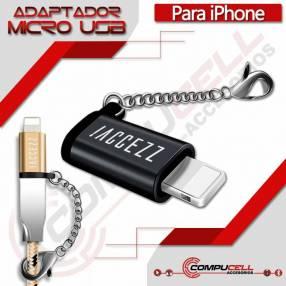 Adaptador Micro USB para iPhone