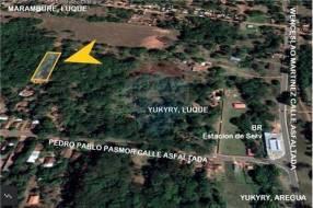 Terreno 2000m² YUKYRY-LUQUE