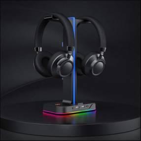 Soporte de auricular RGB
