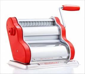 Máquina para pasta casera Pastalinda clásica roja