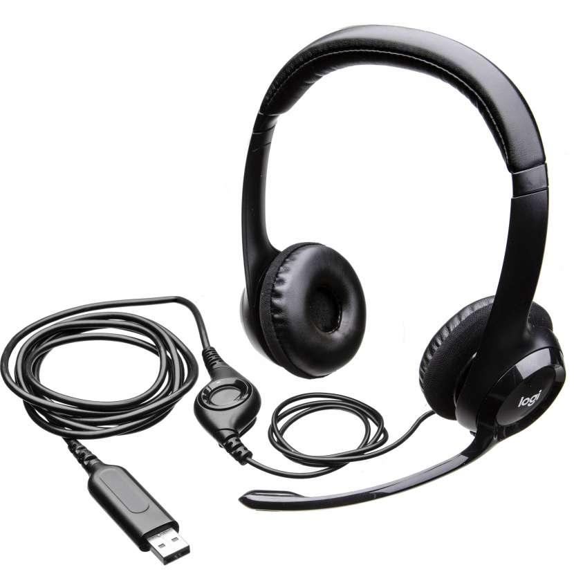 Auricular logitech 981-000014 h390 confort