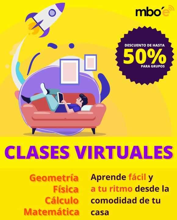 Clases virtuales de física y matemática - 0