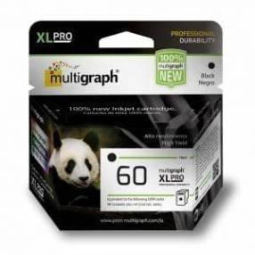 Cartucho multigraph 60 xl negro 18ml