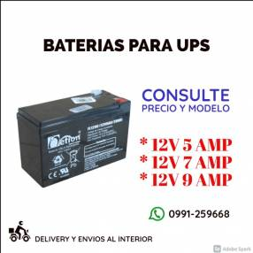 Batería UPS
