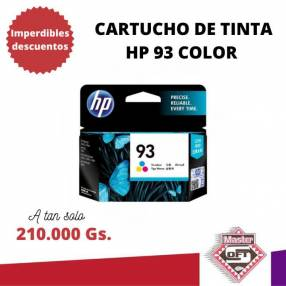 Tinta HP 93 color