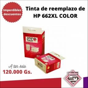 Tinta compatible a HP 662XL color