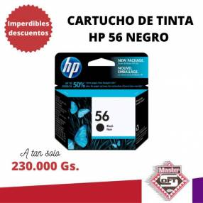Tinta HP 56 negro