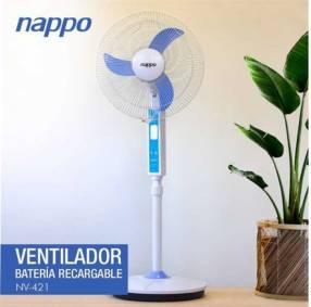 Ventilador a batería de pie Nappo