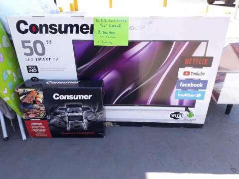 Smart TV Consumer de 50 pulgadas - 0