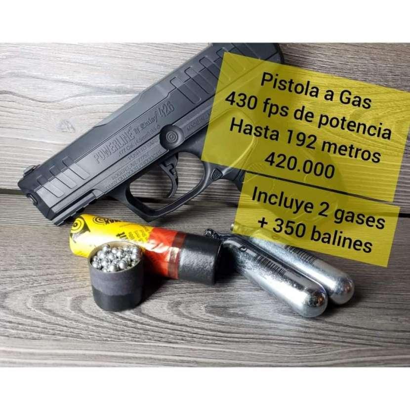 Pistola a gas CO2 - 0