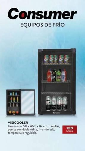 Visicooler Consumer 120 litros