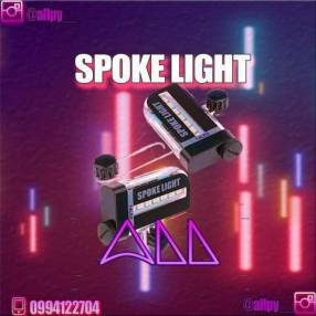 Luz LED para Biker Spoke Light