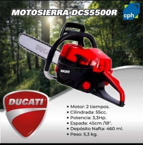 Motosierra Ducati DCS5500R
