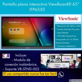 Pantalla Interactiva Viewsonic