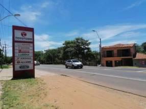 Propiedad sobre ruta principal Mcal. José Félix Estigarribia Caacupé