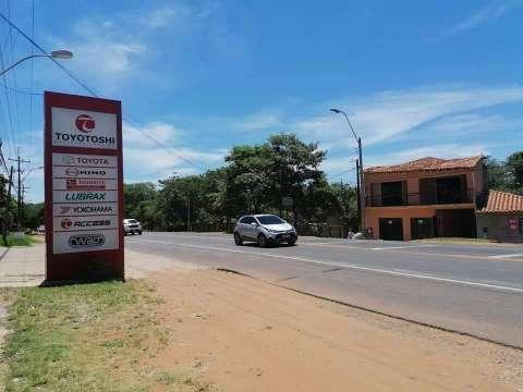Propiedad sobre ruta principal Mcal. José Félix Estigarribia Caacupé - 0