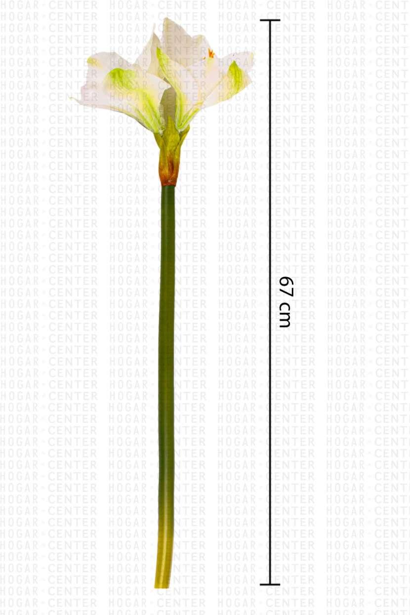 Flor artificial blanco 67 cm - 0