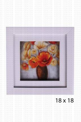 Cuadro decorativo 18x18 cm