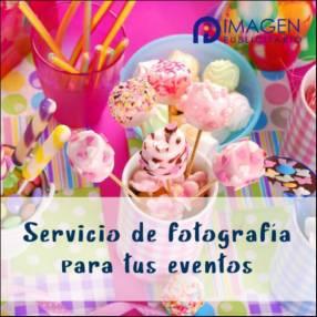 Servicio de fotografía para eventos infantiles